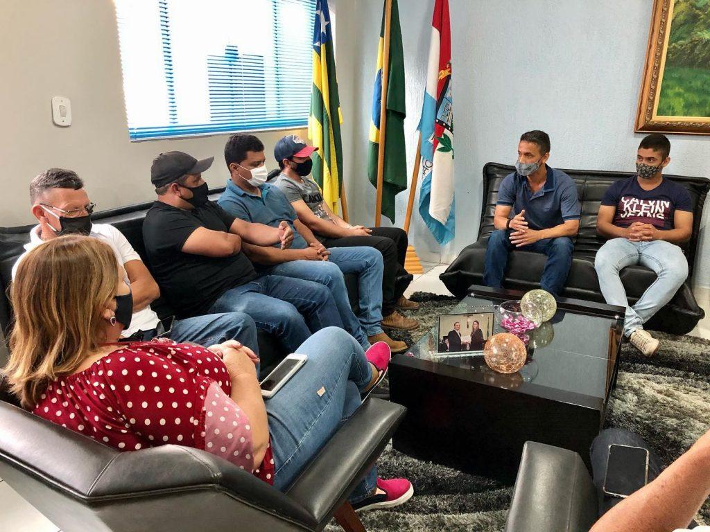 Vereadores durante reunião com Superintendente da SMT (2)